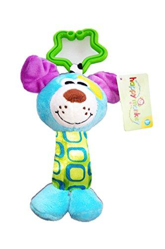 Happy Monkey Hochet Multicolore Musical Animal (Chien)