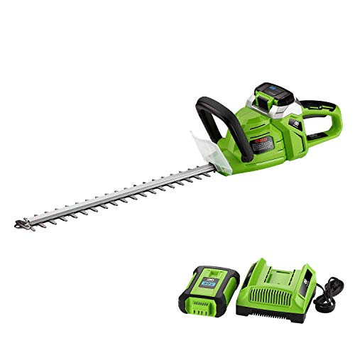 Review Of chiluer Hand-held Lawn MowerBest Partner 20'' 40V Max High Performance Cordless Hedge Trim...