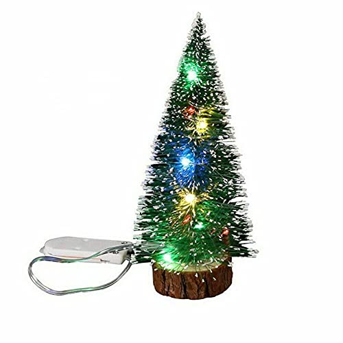 OY Mini decoración del hogar del árbol de Navidad, con Luces LED,...