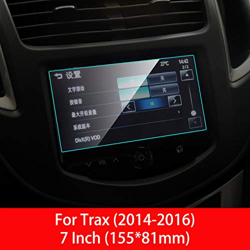 LUVCARPB Protecteur d'écran de Navigation de Voiture, adapté pour Chevrolet Trax 2014-2019