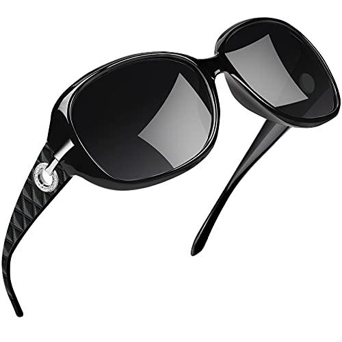 Joopin Gafas de Sol Mujer Moda Polarizadas Protección UV400 de Gran Tamaño Gafas de Sol...