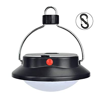 Surborder 60 LED Portable Camping Tent Umbrella Night Light Lamp Lantern Outdoor Camping Hiking