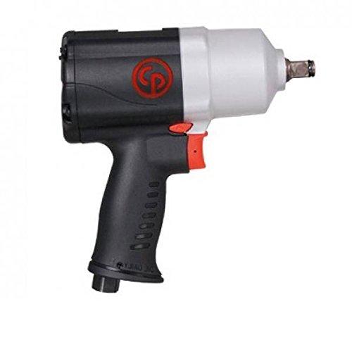 """'Chicago Pneumatic 0001794pistola chiave di impatto, equilibrada e potente, 1/2""""Uscita Nickel, 7000rpm velocità in cottura sottovuoto, 7.3Lunghezza"""