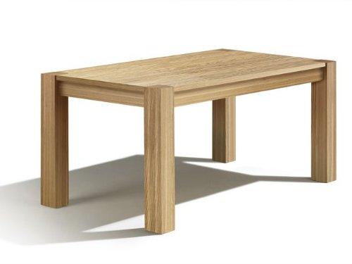 Arica Esstisch, Esche, 150x70x76 cm, Auszug: 60 cm