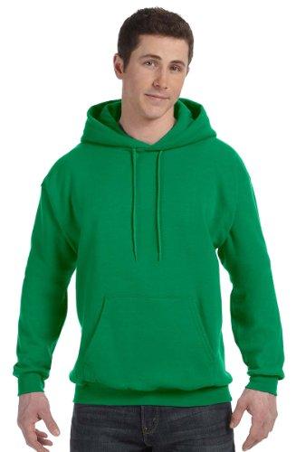 Hanes Mens ComfortBlend EcoSmart Pullover Hoodie Sweatshirt Kelly Green