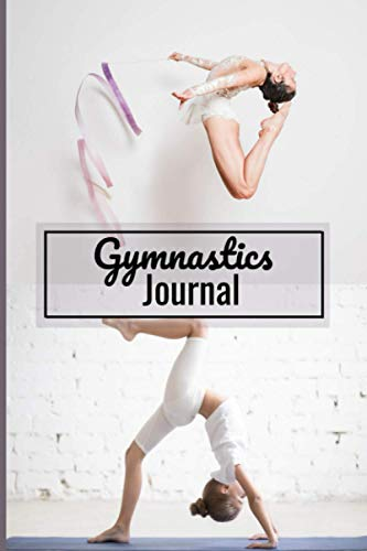 Gymnastics Journal: Sports notebook to write in | 110 lined pages journal | Gift for Gymnast, Coach, Girl & Women