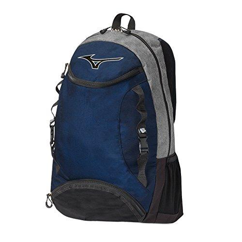 Mizuno Lightning Volleyball Backpack, Grey/Black