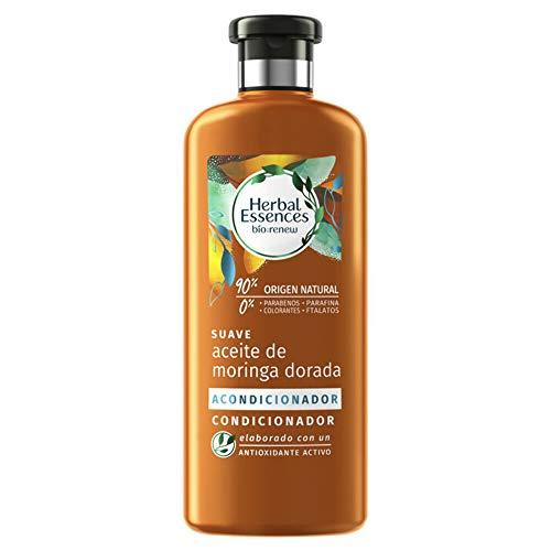 HERBAL Essences acondicionador aceite de moringa dorada bio bote 400 ml