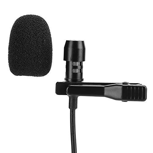 Crisist Micrófono, Pequeño Y Ligero Micrófono para Teléfono Móvil Durable para Teléfono De Bolsillo para Cantante
