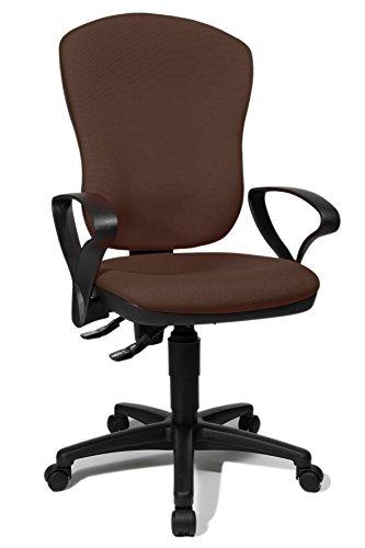 Topstar 8180SG08 Point 80 Chaise de Bureau Marron 46 x 49 x 118 cm
