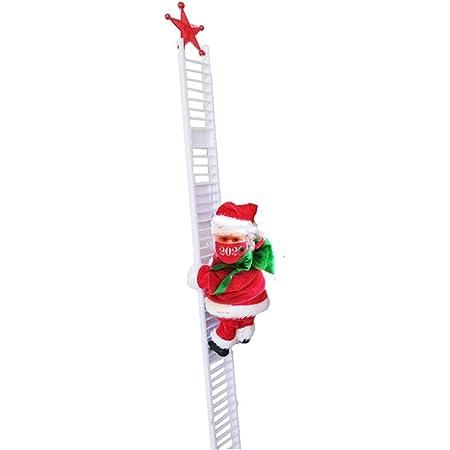 Parkomm Papá Noel eléctrico, Escalera de Escalada eléctrica ...