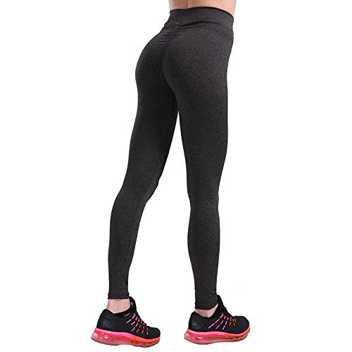 Mallas Casual Push Up Fitness Leggings Mujer Ropa Deportiva Entrenamiento Legging Jeggings Bodybuilding Slim Leggings Mujeres 7 Colores L Negro