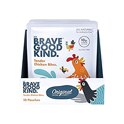 BRAVE GOOD KIND Tender Chicken Bites, Delicious...