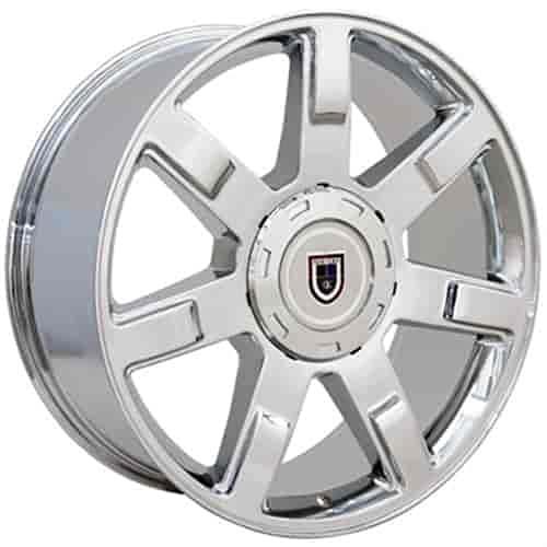 OE Wheels LLC 22 inch Rim Fits Cadillac Escalade Wheel CA80 22x9 Chrome Wheel Hollander 5309