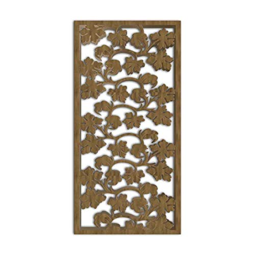 New NISH! Decorative Carved MDF Wood Wall Panels for Room Partition, Screen, Divider, Door, Ceiling,...