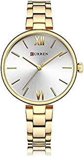 Curren Dress Watch For Women Analog Stainless Steel - C9017L-8