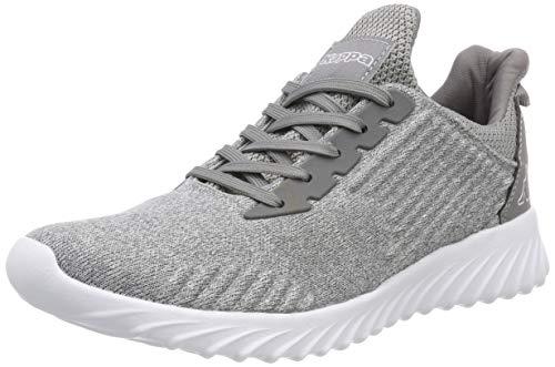 Kappa Unisex-Erwachsene Ironic Sneaker, Grau (Grey/White 1610), 41 EU