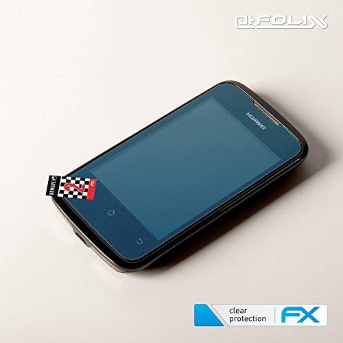 atFolix Schutzfolie kompatibel mit Huawei Ascend Y200 Folie, ultraklare FX Displayschutzfolie (3X) - 5