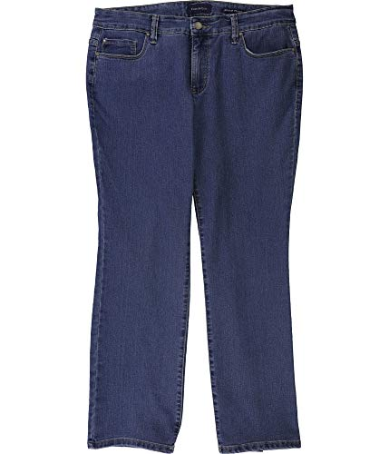 Charter Club Womens Lexington Straight Leg Jeans, Blue, 24WP