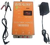 Hengyuanyi-Tools Cerco eléctrico Solar Energizador Controlador de Pulso de Alto Voltaje Granja de Animales Cerco eléctrico Pastor Cría Animales Controlador de cercado eléctrico para jardín-XSD280A