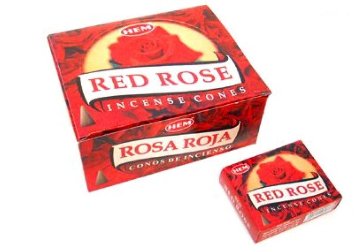 アウトドア奨学金ミスHEM(ヘム) レッドローズ香 コーンタイプ REDROSE CORN 12箱セット