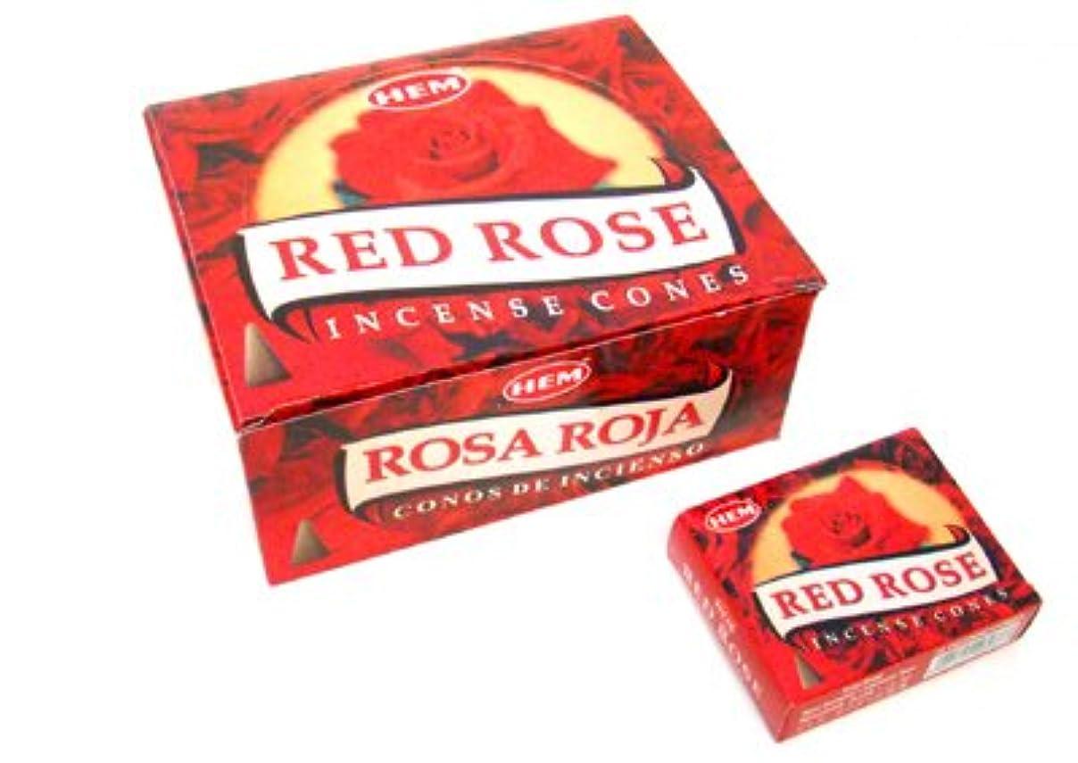 実証する素敵な男らしさHEM(ヘム) レッドローズ香 コーンタイプ REDROSE CORN 12箱セット