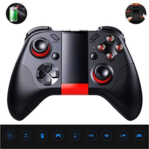 LDFANG Bluetooth-gamecontroller, Wiederaufladbarer Drahtloser Bluetooth V 3.0-Gamepad-Joystick, Geeignet Für iPhone-telefonclip Android-Smartphone Ipad Tv/Pc-Controller / 3D-vr-Headset