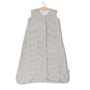 Little Unicorn Cotton Muslin Small Sleep Bag  Grey Stripes Small