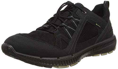 ECCO Herren Terracruise II Sneaker, Schwarz (Blacktitanium 52570), 43 EU