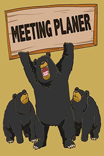 Meeting Planer: Dieses Konferenz Tagebuch bietet dir eine Agenda, Teilnehmer, Zeit, Kontakte, Notizen | Tolle Gedächtnisstütze | Motorradfahrer Biker Spruch