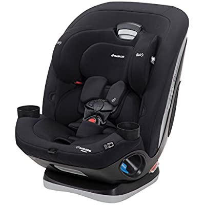 Maxi-Cosi Magellan All-In-One Convertible Car Seat With 5 Modes, Night Black, One Size
