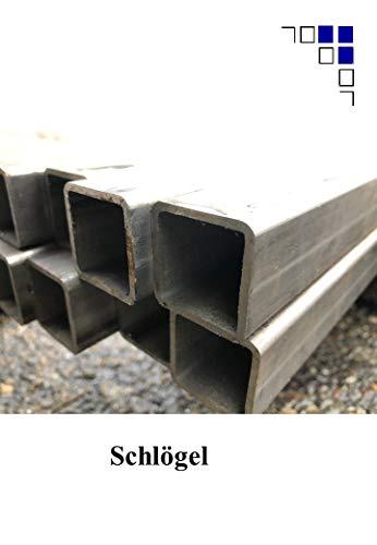 Stahl Rohr 30x30x2 40x40x2 Vierkantrohr Vierkant Viereckrohr Vierkantrohr (Stahlrohr 30x30x2mm, 200mm)
