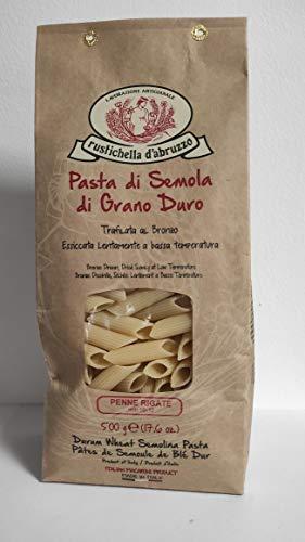Rustichella d'Abruzzo - Penne Rigate italienische Nudeln - 500g