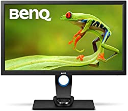 BenQ SW2700PT PhotoVue 27 inch QHD 1440p Photography Monitor   Hotkey Puck for Efficiency   AQCOLOR Technology for Accurate Reproduction (Renewed)