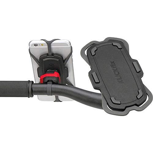 KLICKfix Unisex– Erwachsene Quad Mini Phonepad, schwarz, Einheitsgröße