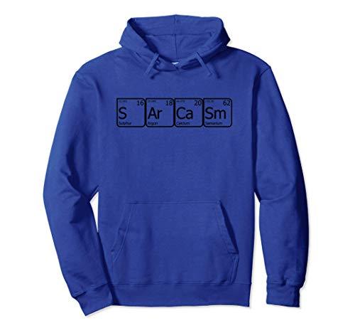 SArCaSm Tavola periodica degli elementi S Ar Ca Sm Meme Felpa con Cappuccio