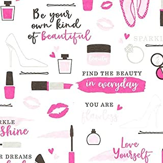 Be Your Own Kind of Beauty Motivational Print Tissue Paper for Gift Bags Wrapping 20 inch x 30 inch, Pack of 20