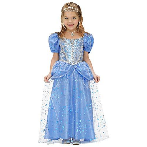 WIDMANN 68988 - Costume per travestimento da Fatina Principessa, 158 cm, colore: Blu