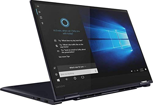 2019 Lenovo Yoga 730 2-in-1 15.6' FHD IPS Touchscreen Thin & Light Laptop, Intel Quad Core i5-8265U Upto 3.9GHz, 12GB RAM, 256GB SSD, Backlit Keyboard, Fingerprint Reader, WiFi, Windows 10,Abyss Blue