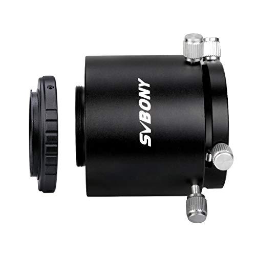 Svbony SV123 Spotting Scope Telecamera Adattatore Prolungamento Regolabile Tubo T-anello Adattatore Compatibile con Nikon SV13 SV14 SV46