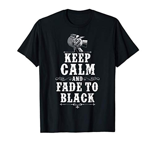 Lichttechniker Tshirt KEEP CALM Veranstaltungstechniker T-Shirt