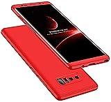 IMEIKONST Samsung S8 Plus Funda 3 in 1 Ultra Slim Design PC Hard Cubierta 360 Grados Protección Anti-Shock Anti-Scratch Caso Cover Carcasa para Samsung Galaxy S8 Plus. 3 in 1 Red AR