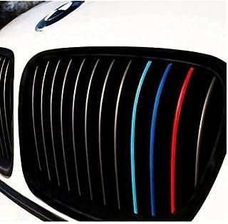 Generisch Niersticker lichtblauw blauw rood M kleuren performance sticker rooster grille grille sierstrepen sticker autost...
