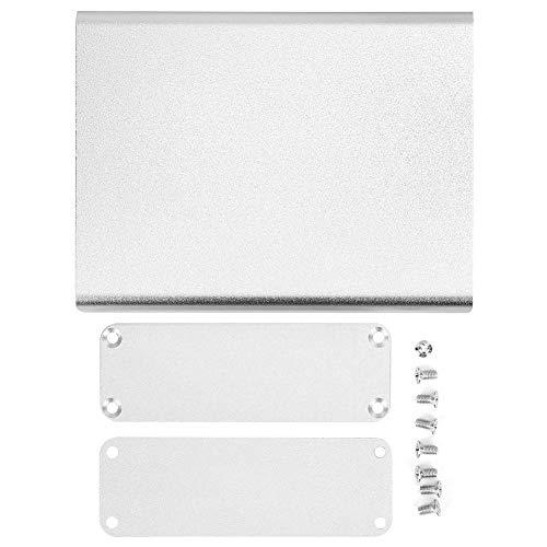 Aluminium-Projektbox - Aluminium-Projektbox Integrierte matte silberne DIY-Elektronikproduktschale 28x84x110mm