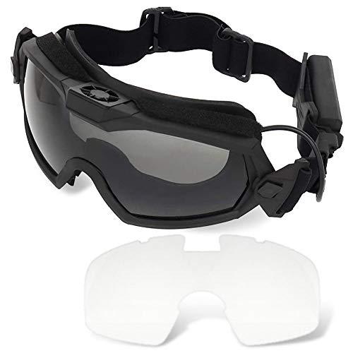 H World Shopping Fan Version Cooler Airsoft Glass Regulator Goggles Ski Snowboard Bike Sports BK