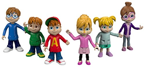 Fisher-Price Alvin & the Chipmunks, We're the Chipmunks Collectibles, 6 Pack