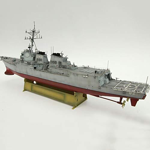 Montado 1 700 Escala Nave Modeloo,USS Lassen (DDG 82) Acorazado Destructor Modeloo,Arleigh Burke-Clase Destructor De Misiles Guiados Destructores De Misiles Guiados