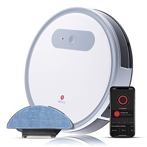 Robot Aspirapolvere e lavapavimenti, con WiFi, Professionale 4 in 1,...