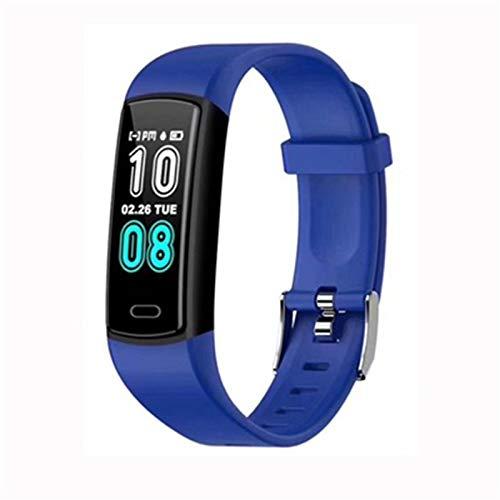 Y29 Pulsera Inteligente Podómetro Actividad Monitor Smart Watch Sleep Tracker Fitness Tracker Mire la presión Arterial para Android iOS,B