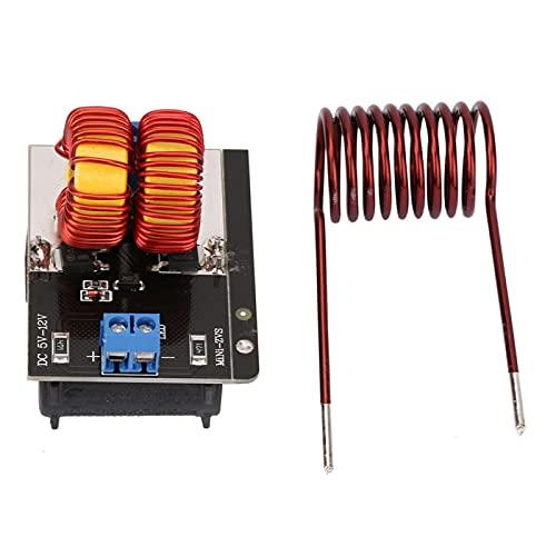 BWLZSP Placa calefactora Placa calefactora ZVS, módulo de Fuente de alimentación de Placa calefactora por inducción de bajo Voltaje Mini ZVS